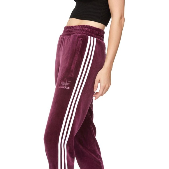 Adidas Velour Track Pants